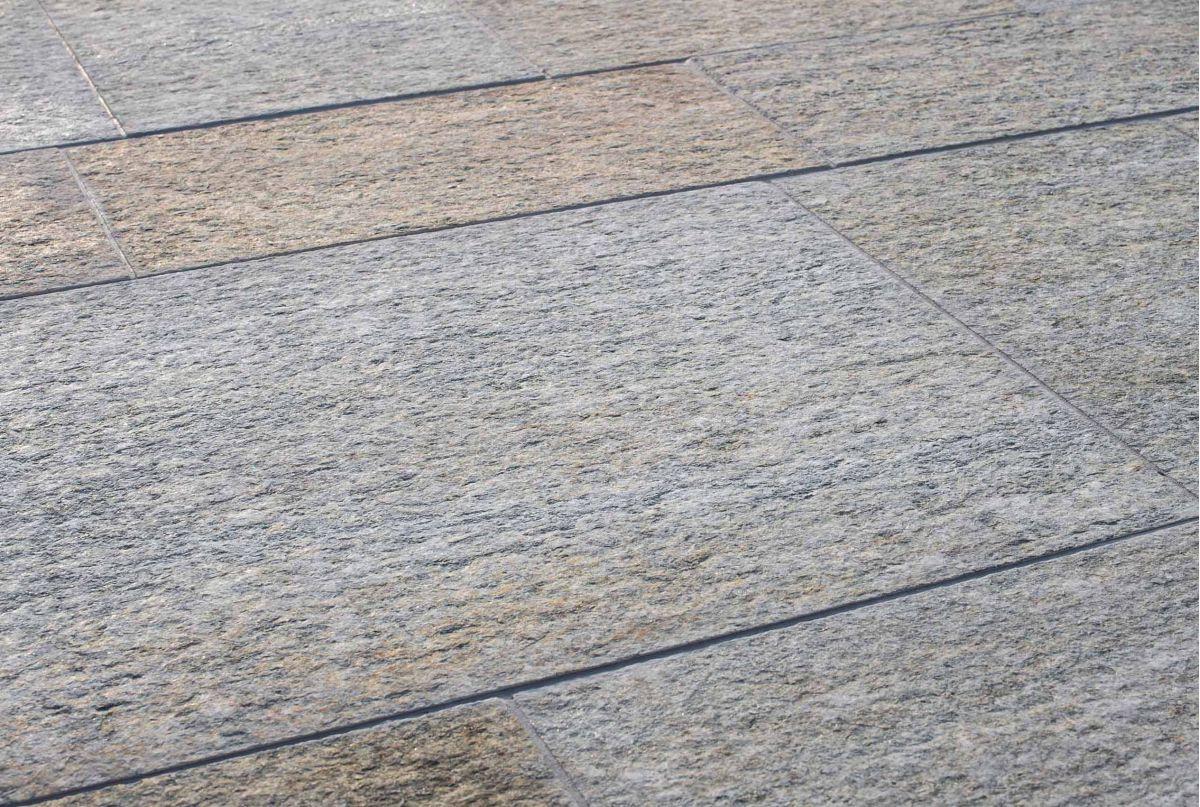 Luserna fiammata mista b b rivestimenti naturali for Piastrelle da esterno ikea